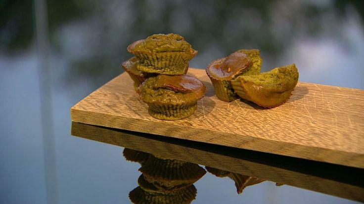 Turtelmuffins er en lækker dansk opskrift af Michelle Kristensen fra Go' morgen Danmark, se flere dessert og kage på mad.tv2.dk