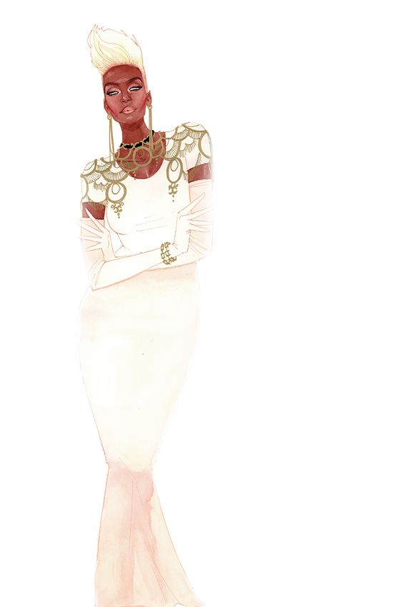 Ororo Munroe by Kevin Wada Fearless, ferocious and female.