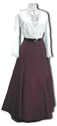 • Carrdia fashion...epitomizes Shayleen's apparel when working. (SDVDW: 1890s-1905 Gibson Girl Era Clothing Links)