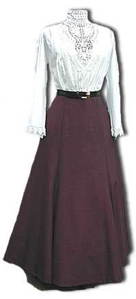 • Carrdia fashion...epitomizes Shayleen's apparel when working. (SDVDW: 1890s-1905 Gibson Girl Era Clothing Links)