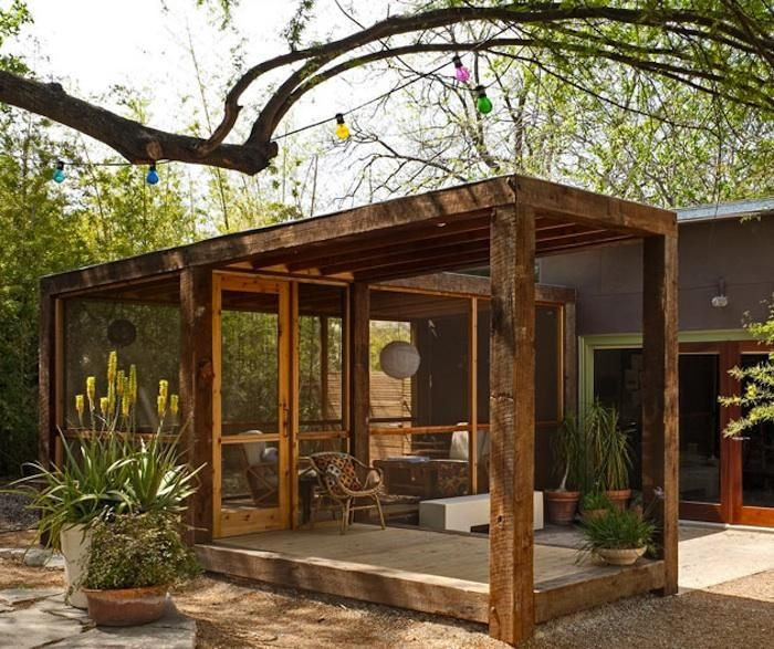 Creative Screened Porch Design Ideas: 17 Best Images About Pergola On Pinterest