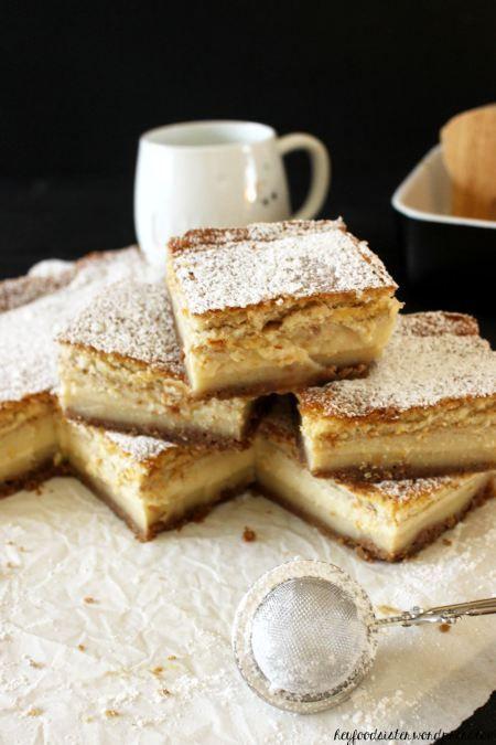 Rezept für einen weihnachtlichen Magic Cake mit Spekulatius
