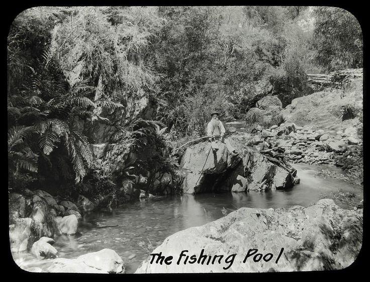 The fishing pool, [Mt. Buffalo, Vic.]