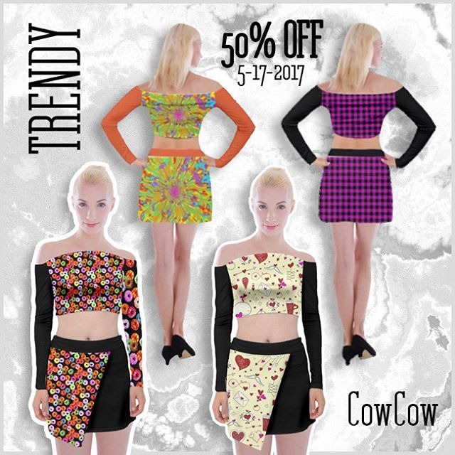 50% OFF - use code MAYGENCY - Expiry Date: 05/17/2017  *  http://www.cowcow.com/EDDArt  *  #cowcow #eddart #supersale #sale #mayday #fashion #maysale #dresses #tshirts #cowcowclothing #clothing