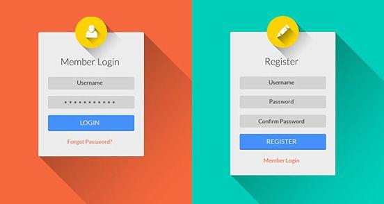 login screen design - Google Search