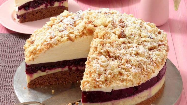Heidelbeer-Eierlikör-Torte: Perfekt für Feiertage & Co