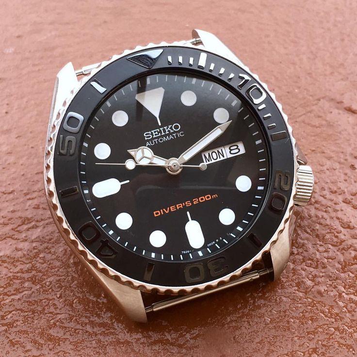 On Red Clay • The Seiko Yacht Master • Ceramic Inserts now available • Limited Stock Now available @ www.DLWwatches.com #seiko #seikomod #skx007 #skx009 #bezel #ceramicbezel #seikodiver #seikowatch #diverwatch #watchuseek #instawatch #dailywatch #watchporn #watchfam #watches #watchnerd #watchshot #watchpic #rolex #sub #submariner #dlwwatches #dlw