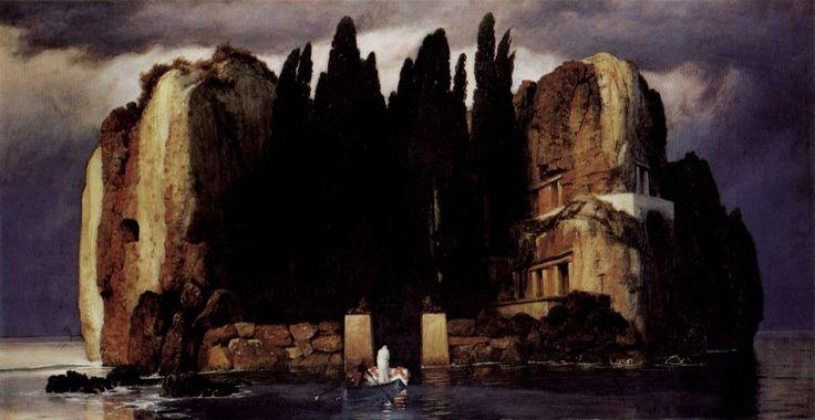 Arnold Böcklin: Isle, Classic Music, Arnold Bocklin, Arnoldböcklin, Death, Die Toteninsel, Museum Of, 1886, Arnold Böcklin