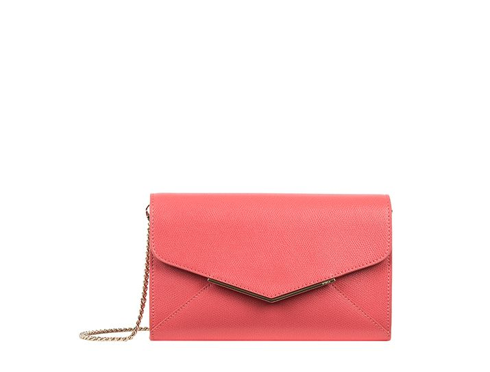 Furla Pochette Color Corallo in Orange (Red) | Lyst
