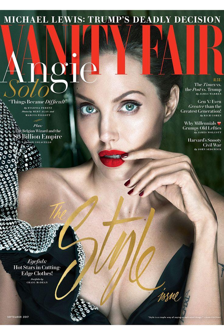 Angelina Jolie Talks Brad Pitt, Bell's Palsy in 'Vanity Fair' Cover Story | Hollywood Reporter