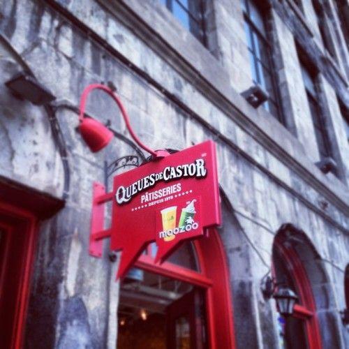 Queues De Castor in Vieux Montréal  by @mauriciomedinab