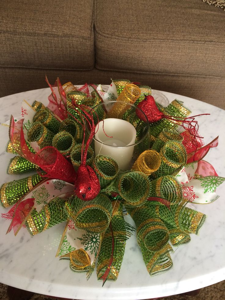 Best candle rings ideas on pinterest christmas