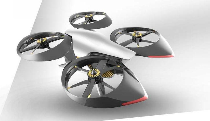 Autonomous Passenger Drone by Robert Kovacs (6)