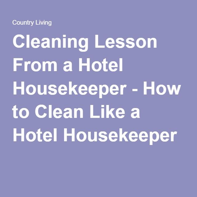 Best 25+ Hotel housekeeping ideas on Pinterest Next day business - sample resume for cleaning job