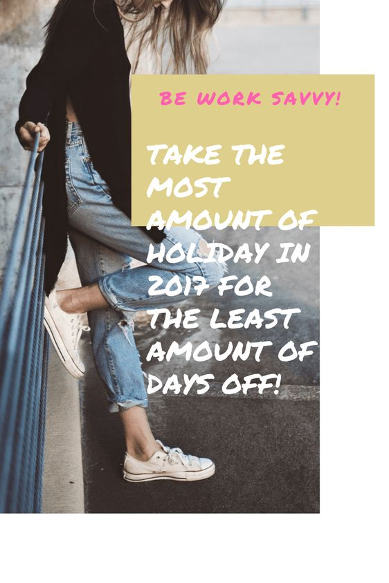Bank Holidays 2017