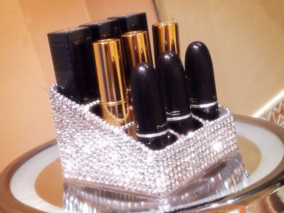 Hey, I found this really awesome Etsy listing at https://www.etsy.com/listing/213635812/rhinestone-lipstick-holder-holds-9