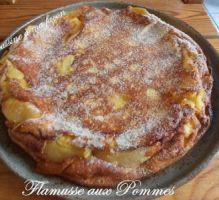 Recette - Flamusse aux pommes originale - Notée 4/5 par les internautes