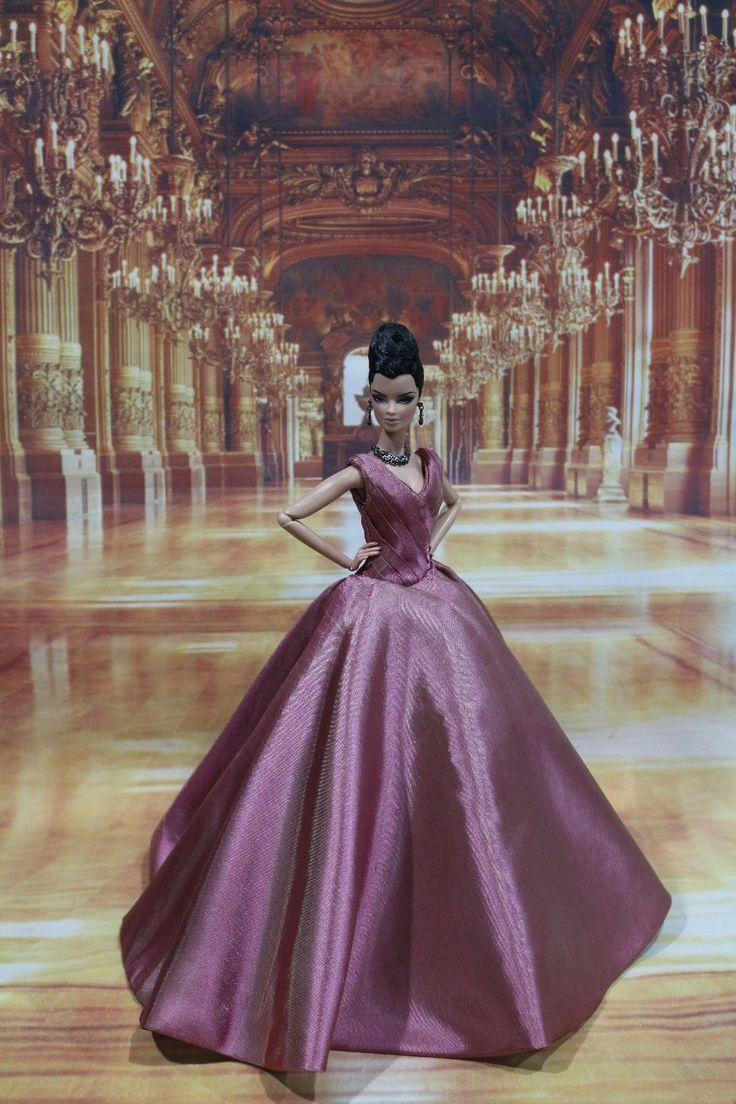Evening Dress for Fashion Royalty Silkstone Doll by T D Fashion 25 05 1 | eBay