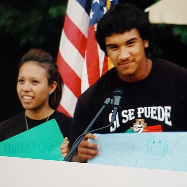 International Day of Peace 2011 Throwback Thursday. Latino Club presenters from Grant High School.