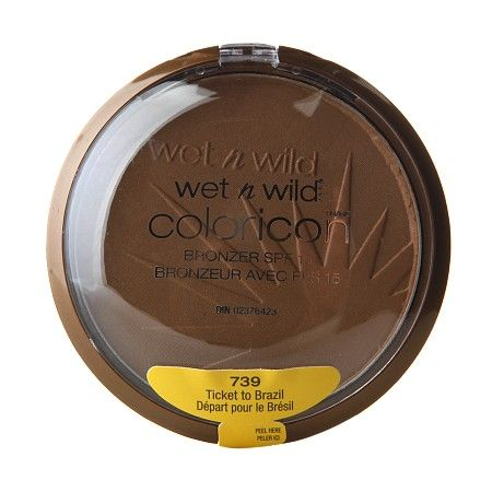 Wet n Wild Color Icon Collection Bronzer SPF 15 Ticket to Brazil $3.99