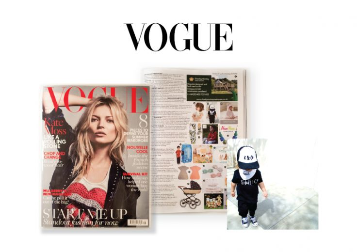 As seen in British Vogue | May 2016 Edition