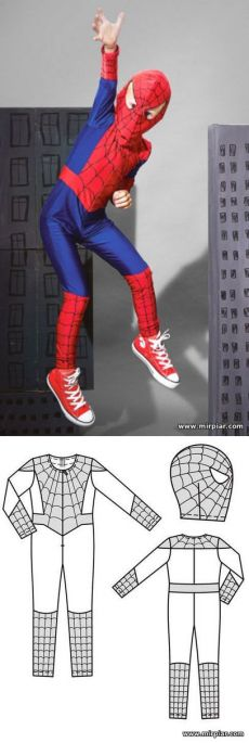traje, patrón libre, traje de hombre araña, de patrón de costura, Año Nuevo, los patrones libres, patrón de descarga, el vestuario, los patrones de los niños, costura