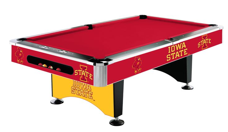 Imperial International Iowa State Pool Table   http://www.gameroomhub.com/collections/pool-tables/products/imperial-international-iowa-state-8-pool-table