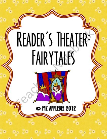 Readers Theater: Fairytales from mz applebee on TeachersNotebook.com (24 pages)  - This package includes four Readers Theater scripts of classic Grimm fairytales: - Hansel and Grethel - Snow White - Rumpelstiltskin - Little Red Riding Hood  This package would be great to use for a unit on fairytales and as an introduction to Reade