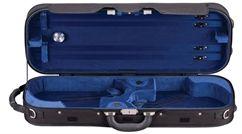 American Case Company® Eagle Double Violin Case | ACV3D BLU - Alternate Image 1