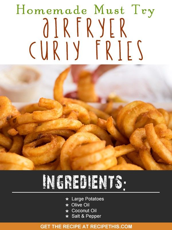 Welcome to my homemade must try Air Fryer Curly Fries recipe. This recipe is sponsored by ICOTrading & their vegetable spaghetti maker and spiralizer. I am a huge fan of fries and can never get enough of them. Though growing up they were never healthy, they never involved a fantastic kitchen gadget like an Air Fryer or an even better kitchen gadget like a Spiralizer. They were ALWAYS deep fried and tasted amazing. I would go to the fish and chip shop (as it was cheaper than fast food…