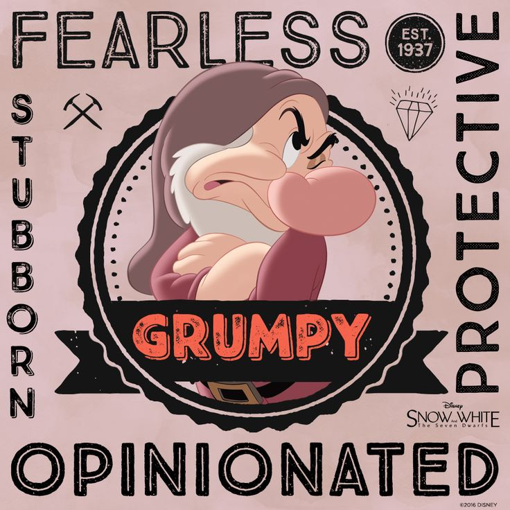 Meet Grumpy | Snow White and the Seven Dwarfs