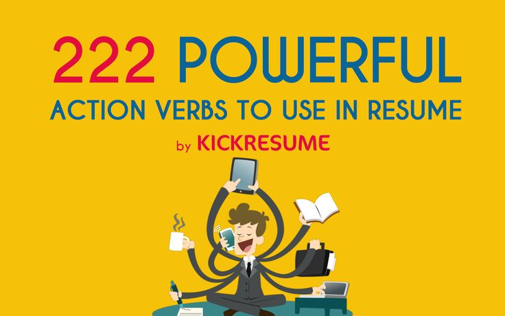 Having difficulty finding the right words? Our cheat sheet with 222 powerful verbs will help you impress your future employer. Almost everyone knows the struggle – sitting behind the desk trying to put together a resume. But where to start?…
