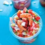 Fish Tacos with Pico de Gallo, Cabbage, and Lime Crema | SAVEUR