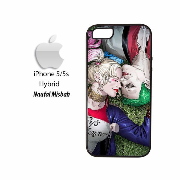 Harley Quinn Joker Suicide Squad iPhone 5/5s HYBRID Case Cover