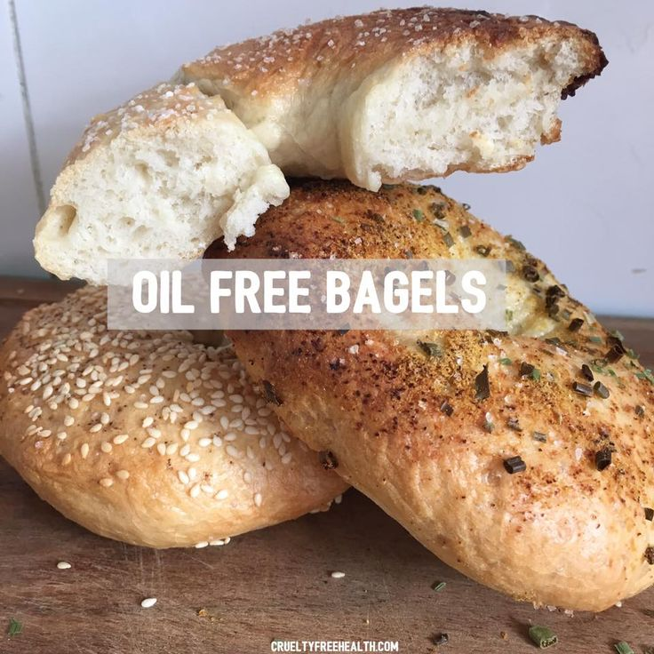 THE PERFECT (OIL-FREE) BAGELS