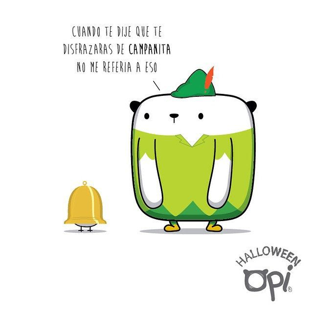 Campanita #opi#cute #kawaii #ilustración #dibujo #halloween ...