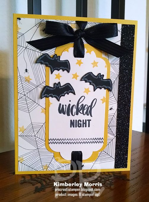 meowl o ween happy scenes and a wicked night find this pin and more on stampin up halloween ideas - Stampin Up Halloween Ideas