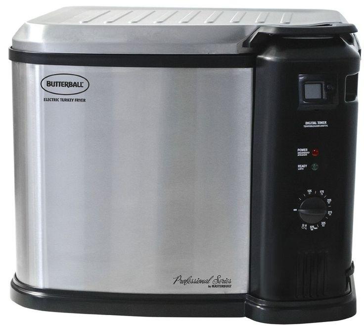 Masterbuilt 23011114 Butterball Indoor Gen III Electric Fryer Cooker Extra Large #Masterbulit