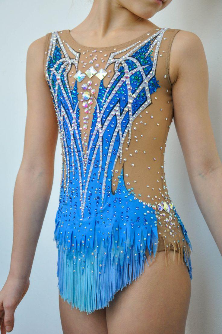 Competition Rythmic Gymnastic Leotard by iiuliia on Etsy