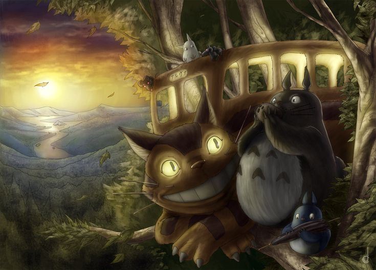 Totoro by jorgecarrero.deviantart.com on @deviantART
