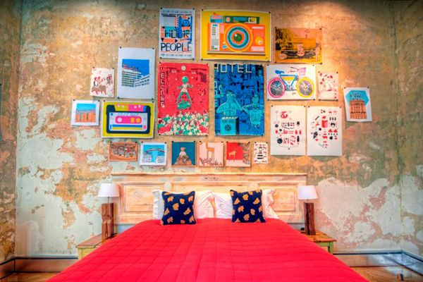 Budapest  We can thank Wes Anderson's The Grand Budapest Hotel for putting the Hungarian city on our radar this year. While the film's opulent pink building is the stuff of fiction, Brody House has all the stylish accommodations you could ask for.