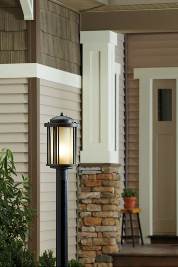 50 best outdoor lighting ideas images on pinterest exterior the transitional crowell outdoor lighting collection by sea gull lighting conveys art deco influences with its aloadofball Images