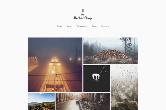 Check out The Barber Shop - WordPress Theme by Tink Tank on Creative Market  #WordPress #Theme