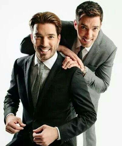 I've died & this is Heaven!! (The Handsome twins Jonathan & Drew Scott)