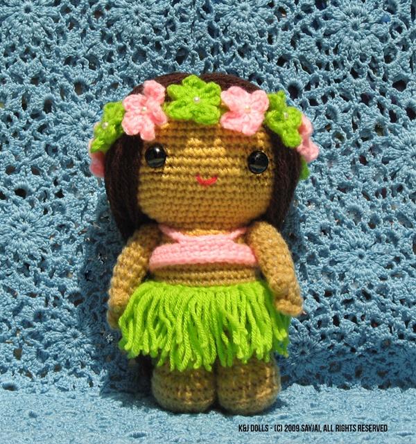 Amigurumi Hawai Doll : My summertime doll amigurumi pattern by nipiti girls