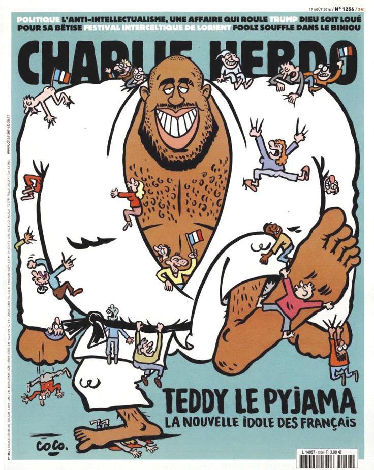 Charlie Hebdo - # 1256 - 17 Août 2016 - Couverture : Coco