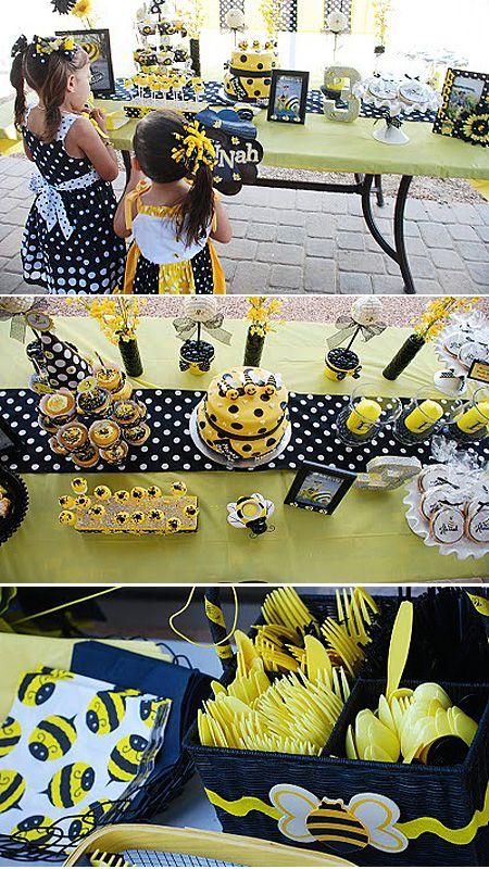 fiesta de cumpleaos inspirada en las abejas decoracin y piatas cumpleaos infantiles y fiestas