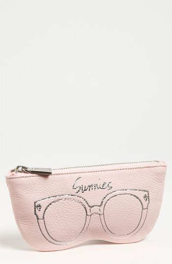 Rebecca Minkoff Leather Sunglasses Case | Nordstrom this pink color is darling!