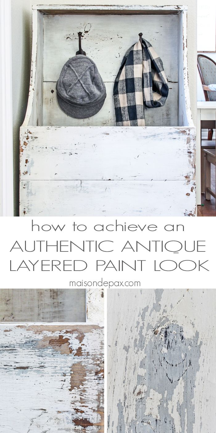 Diy furniture painting ideas - How To Achieve An Antique Layered Paint Look Diy Paintingcrackle Paintingrepainting Furniturepaint