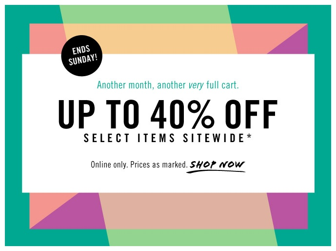 JCrew Factory email (love the background) #marketing